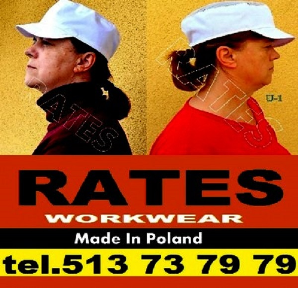 RATES WORKWEAR MADE IN POLAND